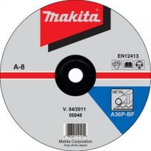 Makita TARCZA SZLIFIERSKA DO METALU 180x6x22,23mm