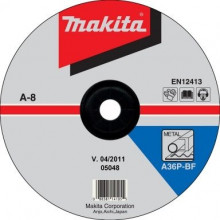 Makita TARCZA SZLIFIERSKA DO METALU 150x6x22,23mm