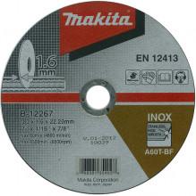 Makita EXTRA CIENKA TARCZA TNĄCA 180x1,6x22mm ($MD)