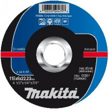Makita TARCZA SZLIFIERSKA DO METALU 115x6x22,23mm