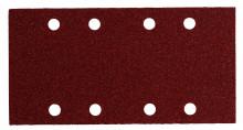 Metabo Samoprzyczepne arkusze szlifierskie 93 x 185 mm, 8 otworów, z mocowaniem na rzep