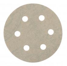 Metabo Samoprzyczepne arkusze szlifierskie Ø 80 mm, 6 otworów