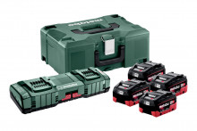 Metabo 4x LIHD 5,5 Ah ASC 145 DUO + ML