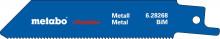 METABO - 5 plátků pro pily ocasky, kov, flexible, 100x0,9 mm