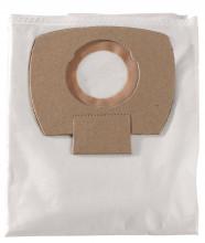 METABO - 5 x filtrační sáček z netkané textilie - 25/30 l, ASA 25/30 L PC/ Inox