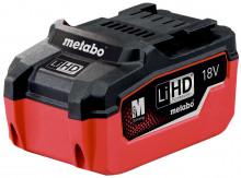 METABO - Akumulátorový článek LiHD 18 V – 6,2 Ah