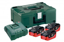 METABO  Basic set 3 x LiHD 7.0Ah + ASC Ultra + Metaloc (685110000)