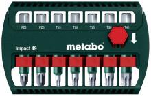 Metabo Komplet bitów Impact 49 (628850000)
