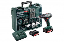 METABO BS 14.4 Set MD 2x2,0 Ah 10 mm