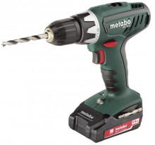 METABO BS 18 Li 2x2,0 Ah /1-13mm/kufr