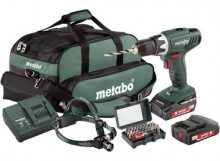 METABO BS 18 Li Set 2x2,0Ah