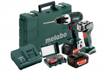 METABO BS 18 LT 2x4,0 Ah Set