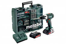 METABO BS 18 LT MD 2x2,0 Ah 1-13mm