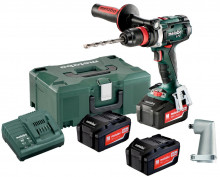 METABO BS 18 LTX Quick Set 3x4,0 Ah