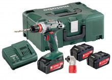 METABO BS 18 Quick Set 3x 4,0 Ah