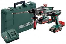 Zestaw Metabo Combo 2.3.4 18 V (685090000) Maszyny akumulatorowe w zestawie