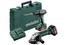 Zestaw Metabo Combo 2.4.4 18 V (685089000) Maszyny akumulatorowe w zestawie