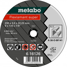 Metabo - Fleximant super 180X3,0X22,23 aluminium, TF 41 (616122000)