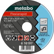 METABO - FLEXIARAPID 125X1,0X22,23 INOX, TF 41 (616187000)