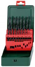 """METABO - Kazeta vrtáků z rychlořezné oceli HSS-R, 19dílná, """"Promotion"""""""