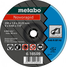 "Metabo Klasa jakości A 60-R / A 46 R ""Novorapid"" stal"