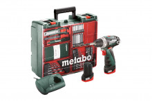Metabo PowerMaxx BS Basic Set (600080880) Wiertarko-wkrętarka akumulatorowa