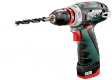 METABO PowerMaxx BS Quick Pro 1x4.0Ah 1x2.0Ah
