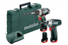 METABO PowerMaxx BS+SSD 3x2,0Ah