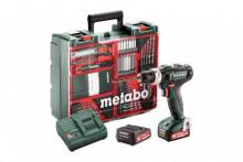 Metabo  PowerMaxx SB 12 Set (601076870) Akumulátorová příklepová vrtačka