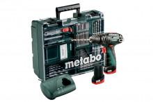Metabo PowerMaxx SB Basic Set mobilní dílna aku příkl.šroubovák 600385920