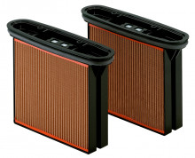 METABO - Sada = 2 filtračné kazety, papier (631933000)