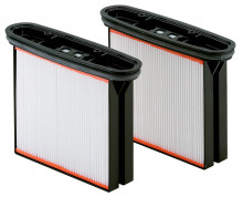 METABO - Sada= 2 filtrační kazety, polyester, nano vrstva, pro ASR 25/35/50 xxx