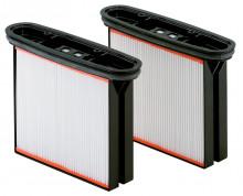 METABO - Sada = 2 filtrační kazety, polyester