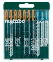 """METABO - Sada plátků pro přímočaré pily """"Promotion"""",10dílná"""