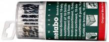 METABO - Sada vrtákov, 18dielna