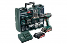 METABO SB 18 Set MD 2x2,0 Ah 13 mm