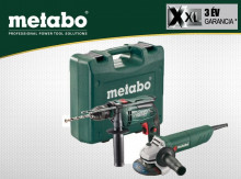 METABO SBE 650 + W 750-125
