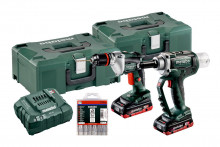 Metabo Set NP 18 LTX BL 5.0 + BE 18 LTX 6  (691084000) Maszyny akumulatorowe w zestawach