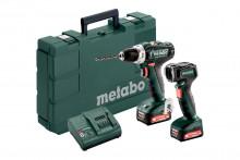 Metabo Set PowerMaxx BS 12 (601036900) Akumulátorový vrtací šroubovák