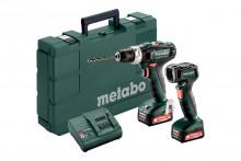 Metabo Set PowerMaxx SB 12 (601076900) akumulatorowe wiertarki udarowe