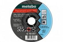 METABO - FLEXIAMANT SUPER FKS 60, 125X4,0X22,23 INOX, SF 27 (616198000)