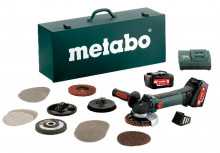 METABO W 18 LTX 125 Inox Set
