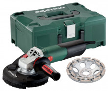 METABO WE 15-125 HD Set GED Metaloc