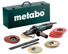 Metabo WEVF 10-125 Quick Inox Set (613080500) Szlifierka kątowa z płaską głowicą