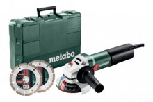 Metabo WQ 1100-125 Set (610035510) Szlifierki kątowe
