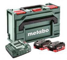 METABO Metabo Zestaw podstawowy 2 x LiHD 8,0Ah + MetaBox 145 (685131000)