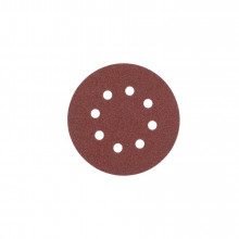 Milwaukee Brusný papír – Suchý zip (8 otvorů) Ø 125 zrn. 60  5 ks