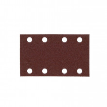 Milwaukee Brusný papír – Suchý zip 80 x 133 mm zrn. 120  10 ks