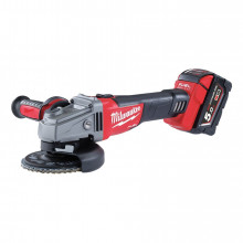 Milwaukee M18 CAG-502X FUEL Úhlová bruska 125mm, 2 x 5.0Ah