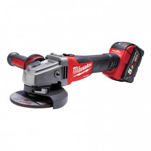 Milwaukee M18 CAG115X-502X FUEL™ 115 mm úhlová bruska, 2 x 5.0Ah